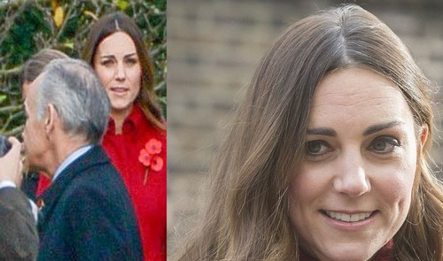 Kate Middletons Grey Hair Display More Evidence Of