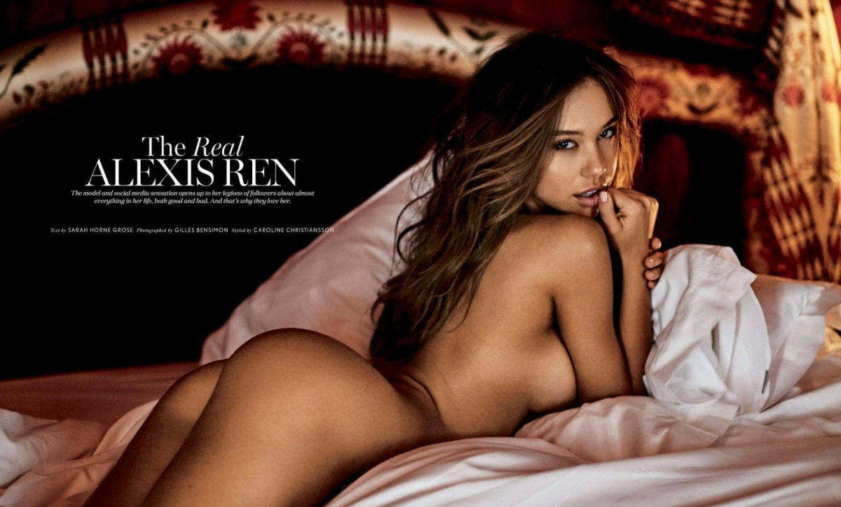 Alexis Ren – Maxim Magazine Naked Photoshoot (July 2017)