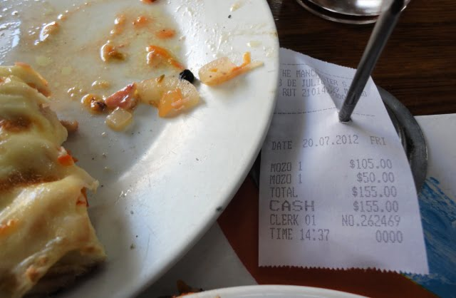 yemek Montevideo Uruguay