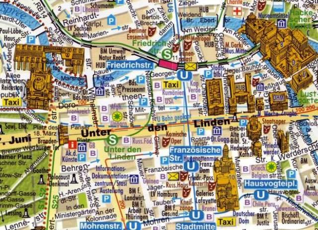 Berlin şehir planı