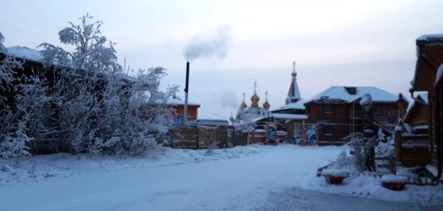 en soğuk kent