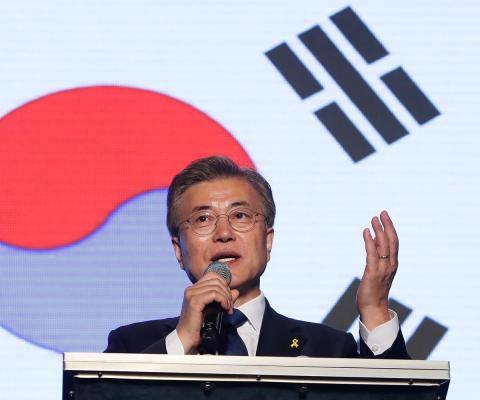 Güney Kore Devlet Başkanı Moon
