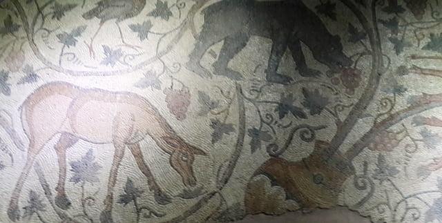 Germanicia antik kent mozaik