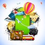 tatil seyahat hazirlik pasaport telefon bilet