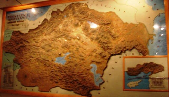 tarihi Ermenistan harita