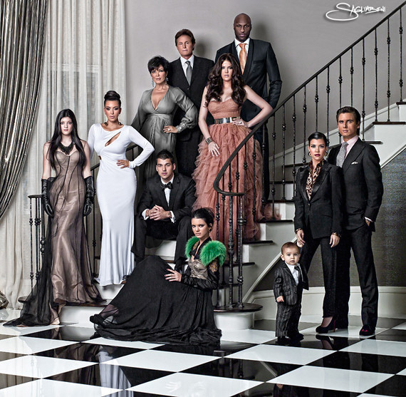 See All the Kardashian Family Christmas Cards