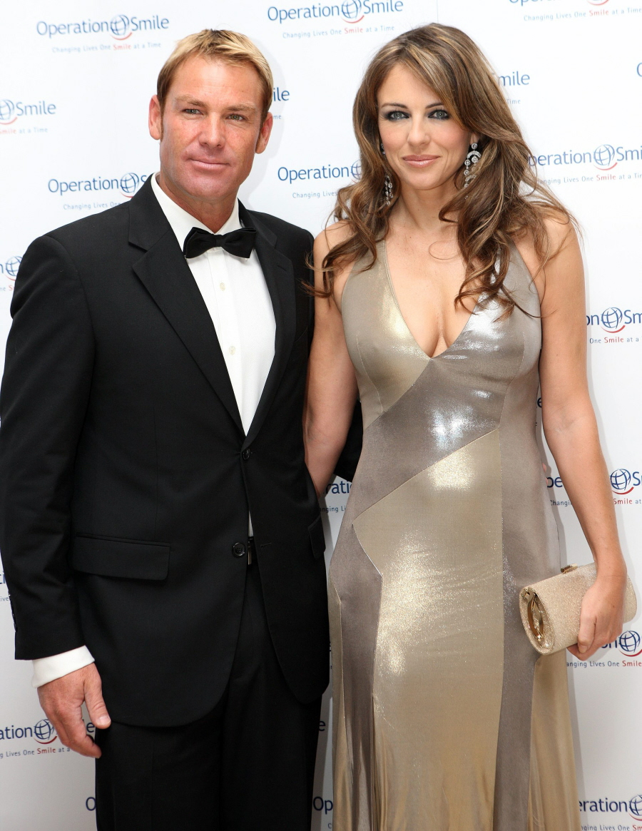 Liz Hurley & Shane Warne are 'sorting through some private issues', not breaking up?