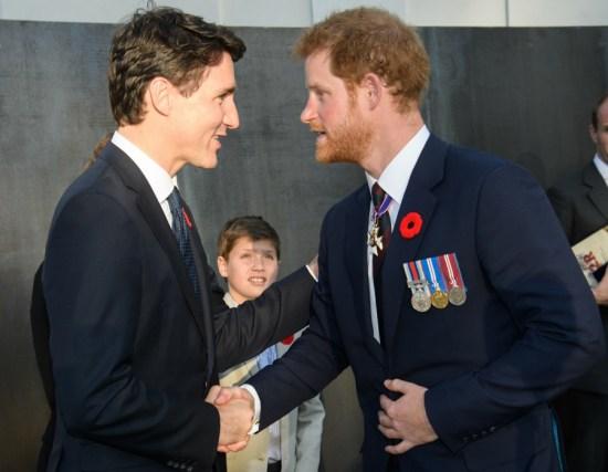 Principe Justin Trudeau di Disney ha passato il tempo con principi reali di Windsor in Francia