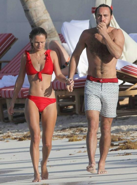 James Middleton condivide il PDA con una nuova ragazza a Saint Barts