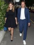 La principessa Beatrice di York e Edoardo Mapelli Mozzi presso il Private Members Club di Annabel a Londra