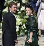 Avviso di matrimonio reale! La principessa Beatrice è fidanzata con il magnate della proprietà Edoardo Mapelli Mozzi ** FOTO FILE **