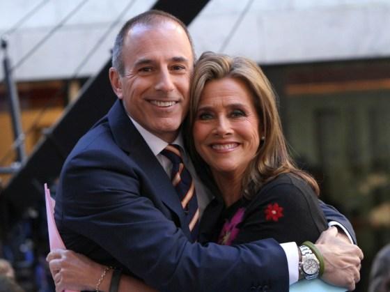Matt Lauer e Meredith Vieira