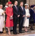 Il duca e la duchessa di Cambridge stanno con il duca e la duchessa del Sussex a W