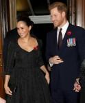 Meghan, duchessa del Sussex e principe Harry, duca del Sussex frequentano l'annuale Royal British Legion Festival of Remembrance presso la Royal Albert Hall il 09 novembre 2019 a Londra, Inghilterra.