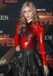 Grimes partecipa alla prima mondiale di 'Captain Marvel' al El Captian Theatre di Los Angeles, negli Stati Uniti, il 4 marzo 2019. Foto: Chris Ashford   utilizzo in tutto il mondo