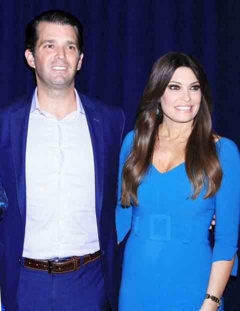 Donald Trump Jr. attends a reception in honor of Danny Tarkanian
