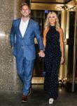 Christina El Moussa e il fidanzato Ant Anstead lasciano gli NBC Studios a New York