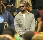 Kanye West e la sua famiglia frequentano la Greater Allen AME Cathedral di New York per il suo servizio domenicale