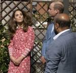 Il Duca e la Duchessa di Cambridge in visita oggi alla Moschea di East London per visitare i volontari che hanno sostenuto i membri durante il COVID 19 Lockdown.