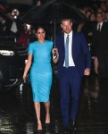 Duca di Sussex e Duchessa di Sussex arrivando a Mansion House