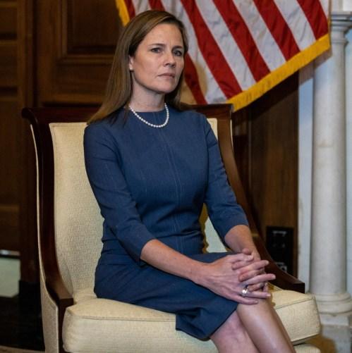 Amy Coney Barrett Capitol Hill chiamate di cortesia