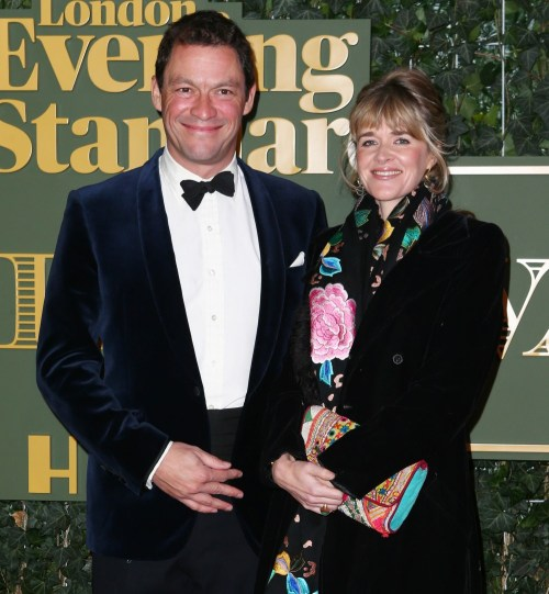 Dominic West e Catherine Fitzgerald a ..........