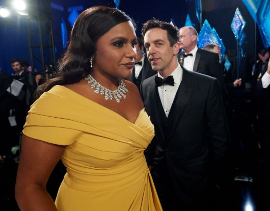 Mindy Kaling nel backstage durante la diretta televisiva ABC dei 92nd Oscars® al Dolby® Theater di H ...