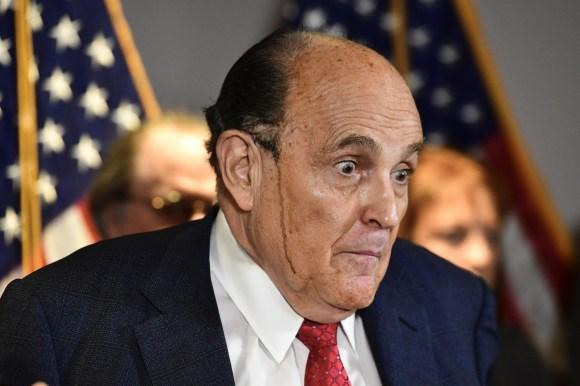 Giuliani Press Conference presso RNC Headquarters