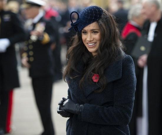 Mcc0092366 Il Duca e la Duchessa di Sussex partecipano al 91 ° Campo della Rimembranza all'Abbazia di Westminster, incontrando i veterani