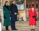 La famiglia reale ringrazia i lavoratori chiave al Castello di Windsor