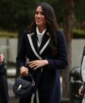 Meghan Markle, insieme al principe Harry britannico, arriva a Birmingham