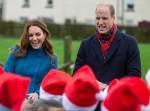 Il Duca e la Duchessa di Cambridge, visitano la Prima Scuola della Chiesa della Santissima Trinità d'Inghilterra a Berwick-Upon-Tweed