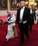 Visita di stato del presidente Trump nel Regno Unito - Primo giorno