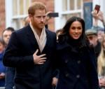 Il principe Harry e Meghan Markle visitano Nottingham