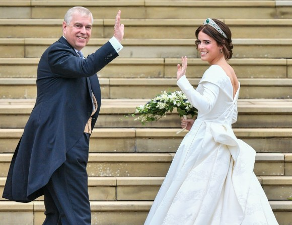 Eugenie Jack matrimonio Windsor