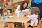 La Duchessa di Cambridge porta il suo storico sondaggio a Londra durante una colazione in visita alla LEYF (London Early Years Foundation) presso Stockwell Gardens Nursery & Pre-school.