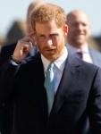 Il principe Harry e membri della famiglia reale partecipano al servizio della domenica di Pasqua al Castello di Windsor, Windsor. 21 aprile 2019.