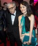 Il regista Woody Allen e Soon-Yi Previn partecipano alla cena di gala di apertura durante la 69a edizione del Festival di Cannes al Palais des Festivals a Cannes, Francia, l'11 maggio 2016. Foto: Hubert Boesl / - NESSUN SERVIZIO DI FILO -