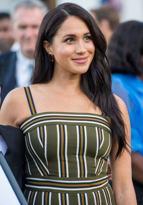 Prince Harry and Meghan Duchess of Sussex attend a youth reception during their Royal visit to Africa