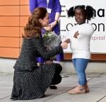 Catherine Duchess of Cambridge partecipa a un seminario della National Portrait Gallery presso l'Evelina Children's Hospital