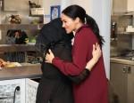 La duchessa del Sussex visita la cucina della comunità di Hubb