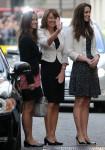 Matrimonio reale - Kate Middleton con madre e sorella