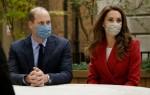Epidemia di virus Britain Royals