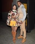 Nicki Minaj con il marito Kenneth Petty avvistati alla sfilata di Marc Jacobs