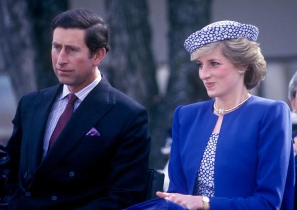 Charles e Diana visitano il Canada