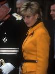 Diana, Principessa del Galles, visita la Cattedrale di Liverpool