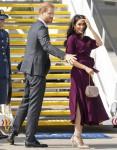 Il Duca e la Duchessa del Sussex si imbarcano su un volo per la Nuova Zelanda