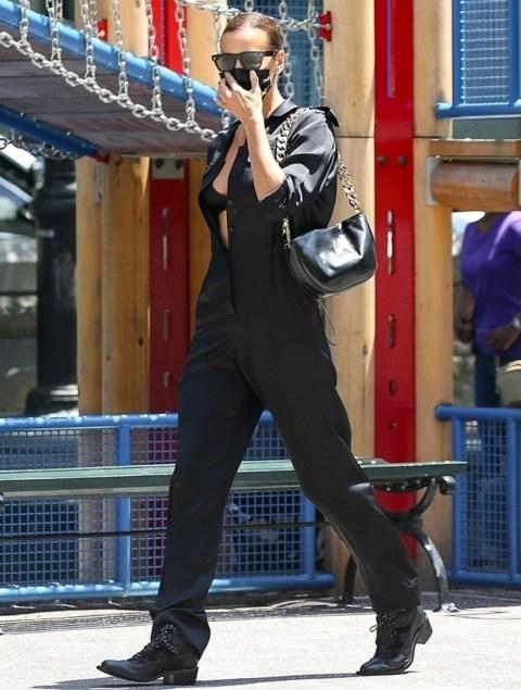La nuova fidanzata di Kanye West, Irina Shayk, ruba la scena a New York!