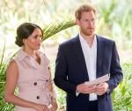 Il principe Harry di Gran Bretagna e sua moglie Meghan, il duca e la duchessa del Sussex in Sud Africa