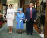 La visita di Donald Trump nel Regno Unito
